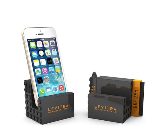 Office Blocks U2013 3pc Phone Stand Mobile Set (Lego Inspired)