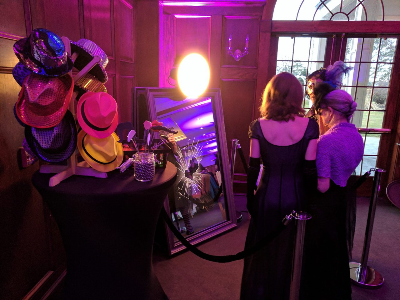 Mirror Booth Rental At Corporate Event